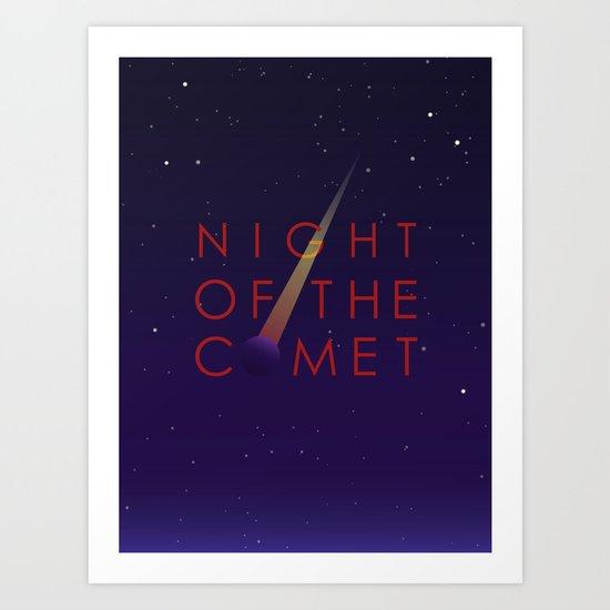 Night of the Comet Art Print