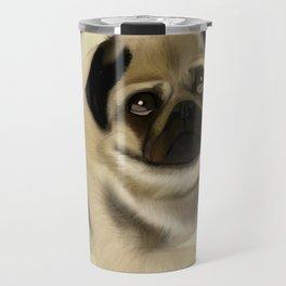 Doug the Pug Travel Mug