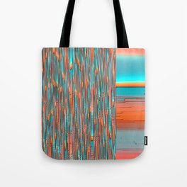 Interplay Of Warm And Cool Tote Bag