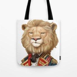cool funny leo face lion animal apparel print design Tote Bag