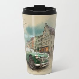 Germany on a rainy day Travel Mug