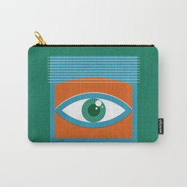 One Look Is Enough - green version Carry-All Pouch