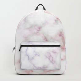 Pattern of red and blue marble Backpack