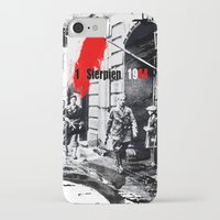 poland iPhone & iPod Cases featuring Warsaw Uprising, Poland - 1944 by viva la revolucion