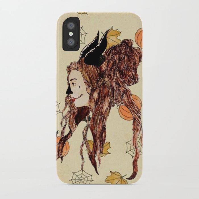 Happy Halloween Maleficent Iphone Case By Diegoguzman