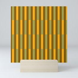 thanksgiving pattern Mini Art Print
