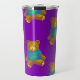 TEDDY BEAR PATTERN Travel Mug
