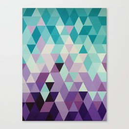 Triangles are my favourite shape Canvas Print