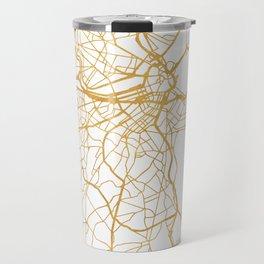 BOSTON MASSACHUSETTS CITY STREET MAP ART Travel Mug