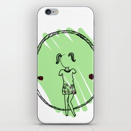 La cuerda iPhone Skin