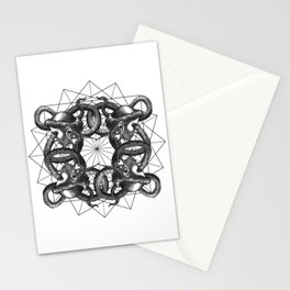 Hermetica Moderna - Medusa Intertwined Stationery Cards