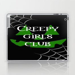 Creepy girls club Laptop & iPad Skin