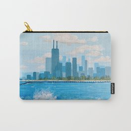 City on the Lake Carry-All Pouch