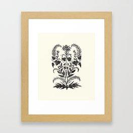 Wild Weeds Framed Art Print