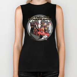Cats Strike Back Biker Tank