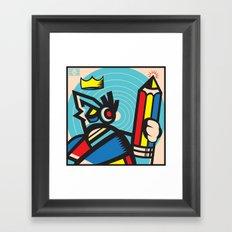 Creative Robot Framed Art Print