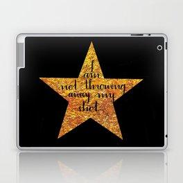 Not Throwing Away My Shot Laptop & iPad Skin