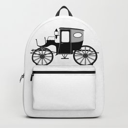 Old Style Carriage Backpack