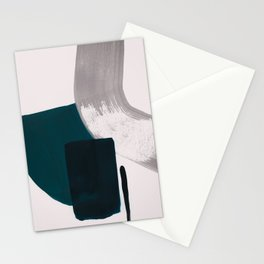 minimalist painting 02 Stationery Cards