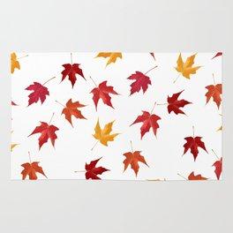 Fall Golden Leaves Rug