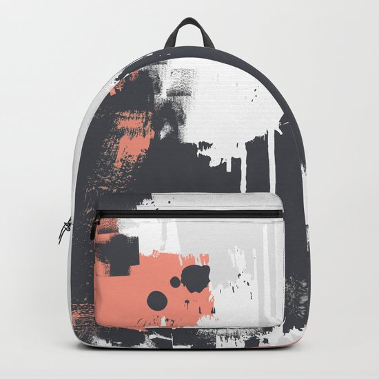 Abstract Paint Pattern 01 Backpack