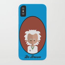 Dr Brown iPhone Case