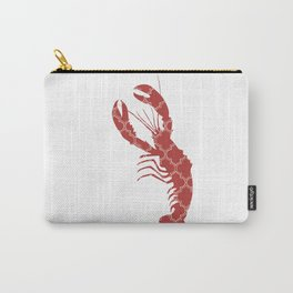 LOBSTER SILHOUETTE WITH PATTERN Carry-All Pouch