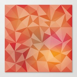Geometric pyramids Canvas Print