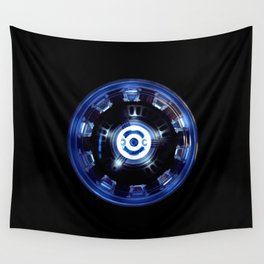 reactor iron man Wall Tapestry