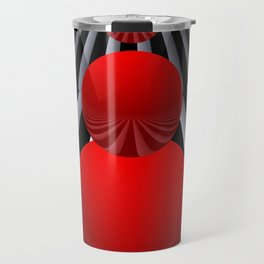 crazy lines and balls -22- Travel Mug