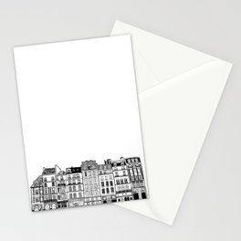 Buildings in Paris Stationery Cards