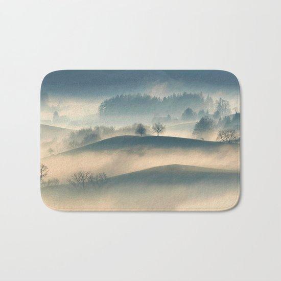 Foggy Hills Bath Mat