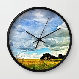 Summer time! Bavaria/Germany Wall Clock