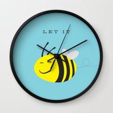 Let it bee. Wall Clock