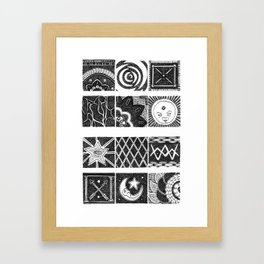 Mini minis Framed Art Print