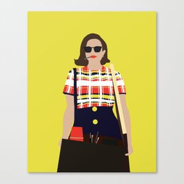 Peggy Olson Mad Men Canvas Print