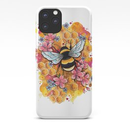Neo Traditional Bee iPhone Case