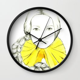 Frill Neck Lady Wall Clock