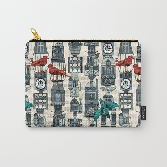 steampunk towers Carry-All Pouch