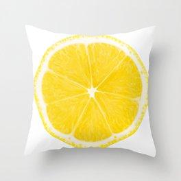 LOVE LEMON Throw Pillow