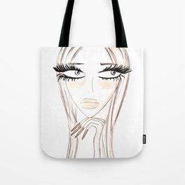 Lady Browny Tote Bag