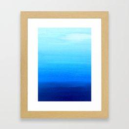Blue 4 Framed Art Print