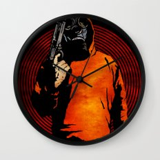 Keep Your Eye On The Prize Wall Clock
