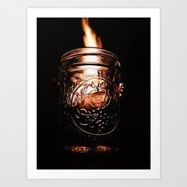 Vermont Flame Art Print