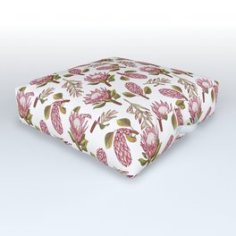 King Protea Delight Outdoor Floor Cushion