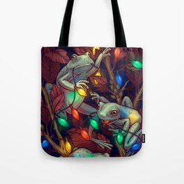 Baby it's Toad Outside Tote Bag
