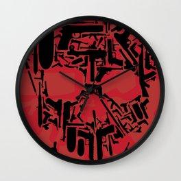 Null Skull Wall Clock