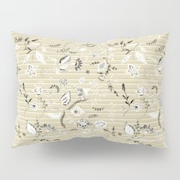 Paisleys in Biege - by Fanitsa Petrou Pillow Sham
