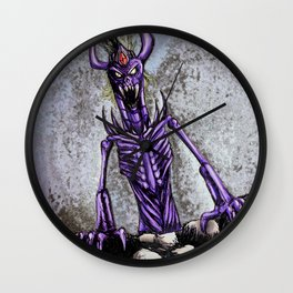 The horror of the deep Wall Clock