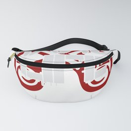 Garage Life Funny Love my Garage Pistons Fanny Pack